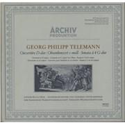 Georg Philipp Telemann Georg Philipp Telemann (1681 - 1767) Germany vinyl LP