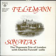 Georg Philipp Telemann Sonatas UK vinyl LP