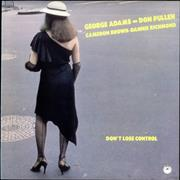Click here for more info about 'George Adams - Don't Lose Control'