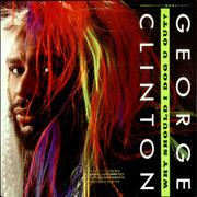 Click here for more info about 'George Clinton - Why Should I Dog U Out? - Gold promo stamped'