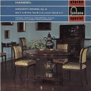 George Frideric Handel Concerti Grossi, Op.6 UK vinyl LP