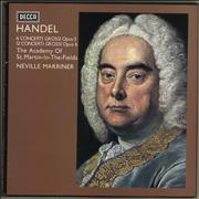 Click here for more info about 'George Frideric Handel - Concerti Grossi Opus 3 And Opus 6 + booklet'