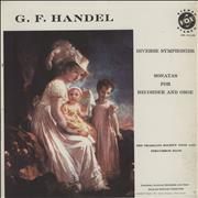 Click here for more info about 'George Frideric Handel - Diverse Symphonies / Sonatas For Recorder And Oboe'