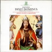 George Frideric Handel Dixit Dominus / Coronation Anthem No. 1 France vinyl LP