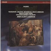 George Frideric Handel Handel: Solomon Netherlands vinyl box set