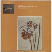 George Frideric Handel Harpsichord Suites Nos. 1-4 UK vinyl LP