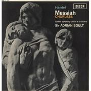 George Frideric Handel Messiah - Choruses - 1st UK vinyl LP