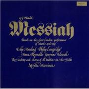 George Frideric Handel Messiah UK vinyl box set