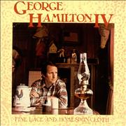 George Hamilton IV Fine Lace And Homespun Cloth UK vinyl LP