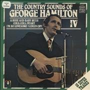 George Hamilton IV The Country Sounds Of George Hamilton IV UK vinyl LP