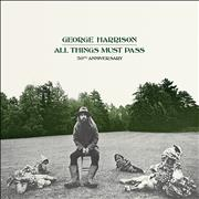 Click here for more info about 'George Harrison - All Things Must Pass - Green & Black Splatter Vinyl 3LP - Sealed'