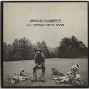 George Harrison All Things Must Pass - VG UK vinyl box set