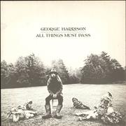 George Harrison All Things Must Pass UK 3-LP vinyl set
