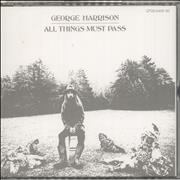 George Harrison All Things Must Past - Card Obi Japan 2-CD album set