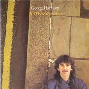 Click here for more info about 'George Harrison - All Those Years Ago + p/s'