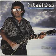George Harrison Cloud Nine - Sealed + Cover Sticker USA vinyl LP