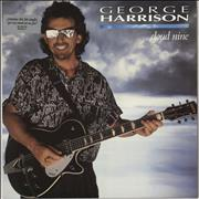 Click here for more info about 'George Harrison - Cloud Nine - silver sticker'