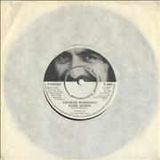 "George Harrison Dark Horse UK 7"" vinyl"
