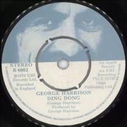 Click here for more info about 'George Harrison - Ding Dong'