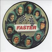 "George Harrison Faster UK 7"" picture disc"