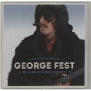 George Harrison George Fest: A Night To Celebrate The Music Of George Harrison UK CD-R acetate Promo