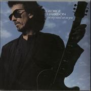 Click here for more info about 'George Harrison - Got My Mind Set On You - Solid + Sleeve'