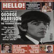 Click here for more info about 'George Harrison - Hello - December 2001'