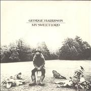 Click here for more info about 'George Harrison - My Sweet Lord - 3rd - P/S - 4pr'