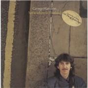 George Harrison Somewhere In England - Sealed + Stickered USA vinyl LP