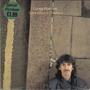 George Harrison Somewhere In England - Sealed UK vinyl LP