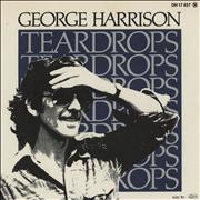 "George Harrison Teardrops Germany 7"" vinyl"