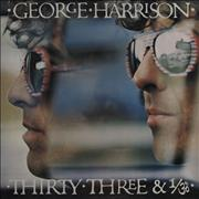 Click here for more info about 'George Harrison - Thirty Three & 1/3 - EX'