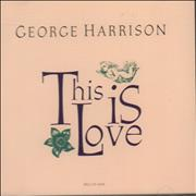 Click here for more info about 'George Harrison - This Is Love'