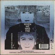 Click here for more info about 'George Harrison - When We Was Fab - Box - EX'