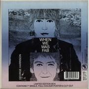 "George Harrison When We Was Fab - Box UK 7"" box set"