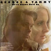 Click here for more info about 'George Jones & Tammy Wynette - We're Gonna Hold On'