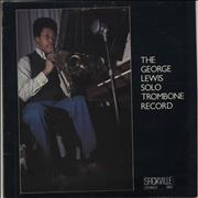 Click here for more info about 'The George Lewis Solo Trombone Record'