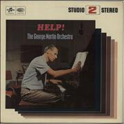 Click here for more info about 'George Martin - Help! - Studio 2 Stereo Pressing - Blue Columbia Logo'
