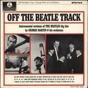 George Martin Off The Beatle Track - 1st - Factory Sample UK vinyl LP