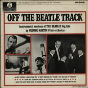 George Martin Off The Beatle Track - VG UK vinyl LP