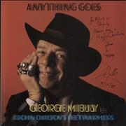 Click here for more info about 'George Melly - Anything Goes - Autographed'