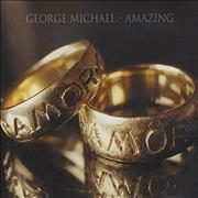 George Michael Amazing UK CD single