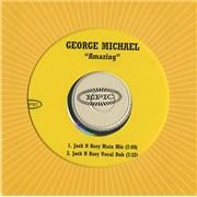 George Michael Amazing USA CD-R acetate Promo