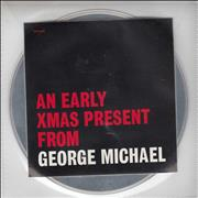 George Michael An Early Xmas Present From UK CD single Promo