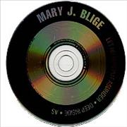 George Michael As - with Mary J Blige USA CD album Promo