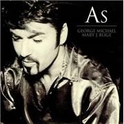"""George Michael As UK 12"""" vinyl"""