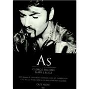 George Michael As UK display Promo