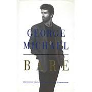 George Michael Bare UK book