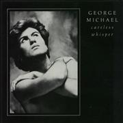"George Michael Careless Whisper - Mis-pressed Label UK 7"" vinyl"