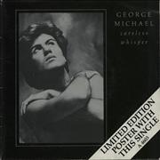 "George Michael Careless Whisper - Poster Sleeve - EX UK 7"" vinyl"
